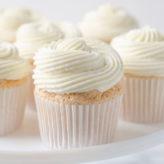 Lemon Berry Angel Food Cupcakes