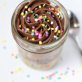 Birthday Cakes in a Jar