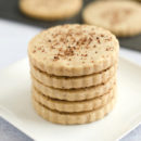 Brown Sugar Cinnamon Shortbread Cookies