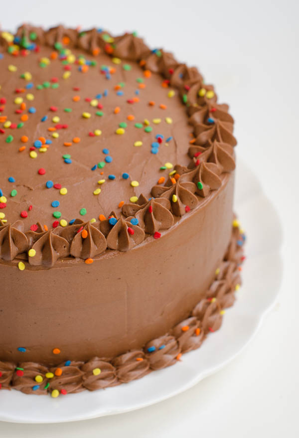 Chocolate Birthday Cake: Devil's Food Cake with Rich ...