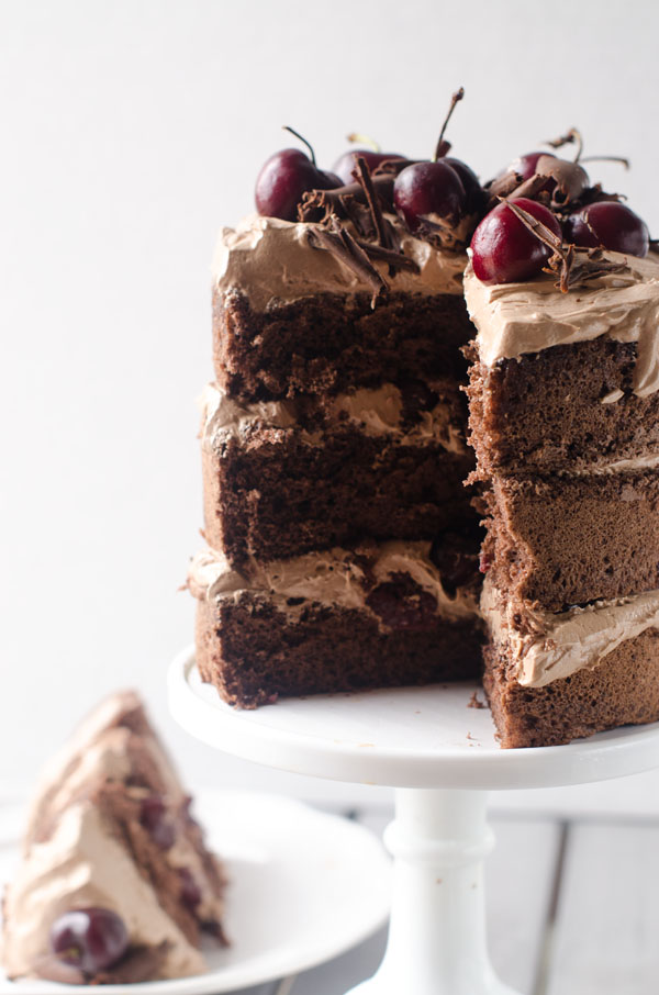 Chocolate Cherry Amaretto Cake | The Cake Merchant