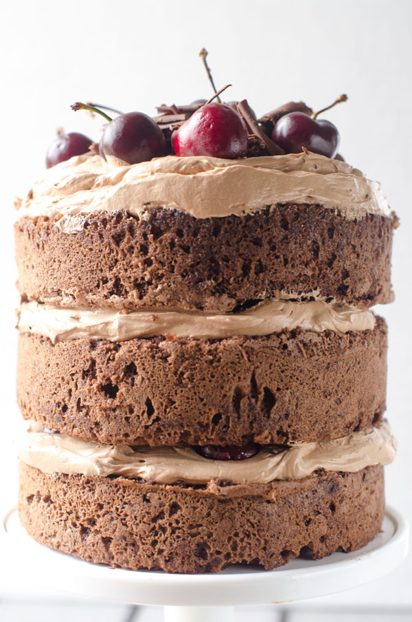 Chocolate Cherry Amaretto Cake The Cake Merchant