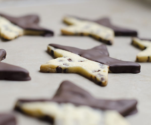Chocolate Chip Shortbread Cookies | The Cake Merchant