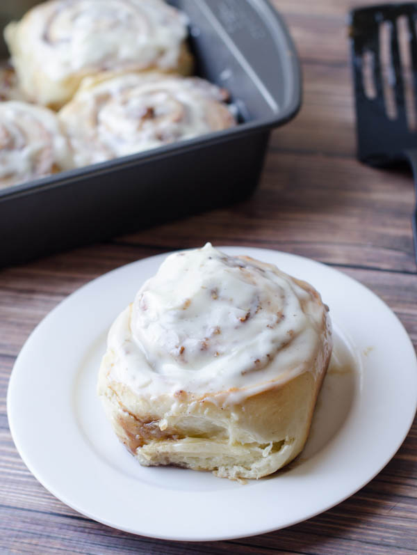 Double Cream Cheese Cinnamon Rolls