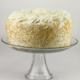 Coconut Layer Cake with Coconut Swiss Meringue Buttercream