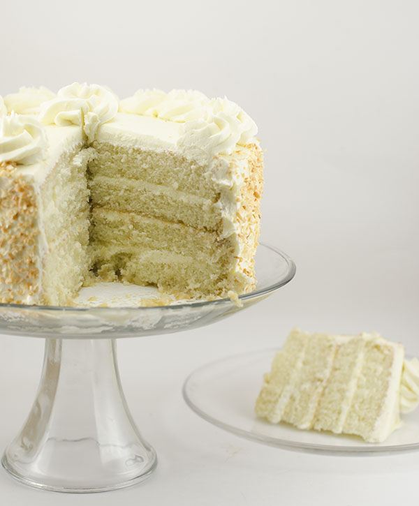 Coconut Layer Cake with Coconut Swiss Meringue Buttercream | The Cake ...