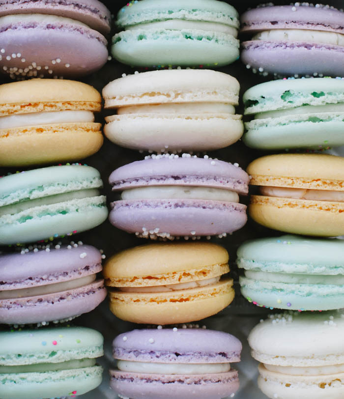 How To Make French Macarons Cake