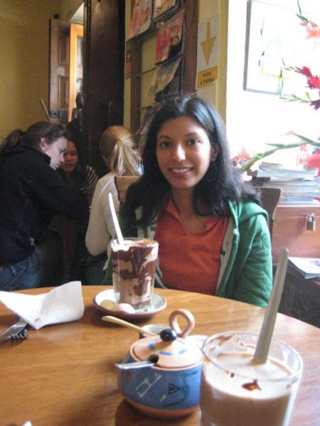 Hot Chocolate in Peru