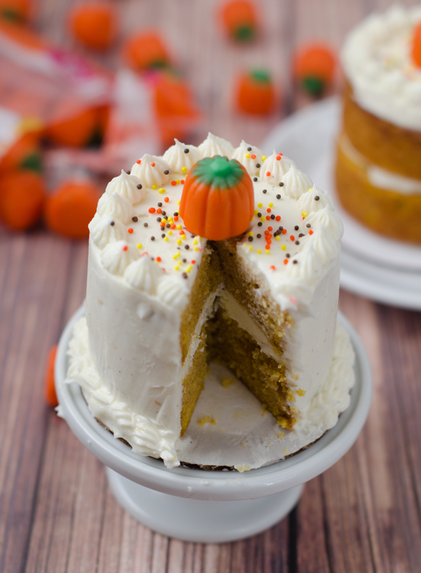 Mini Pumpkin Layer Cakes for Two The Cake Merchant