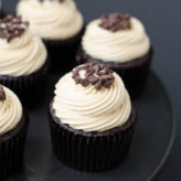 Mocha Chocolate Chip Espresso Cupcakes
