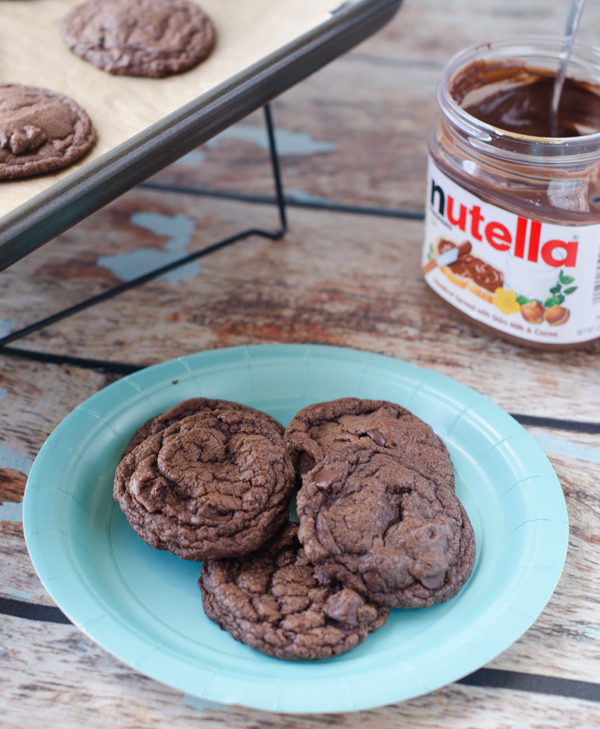 Nutella-Chocolate-Chip-Cookies
