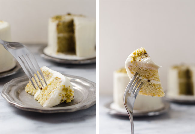Pistachio Orange Tea Cakes
