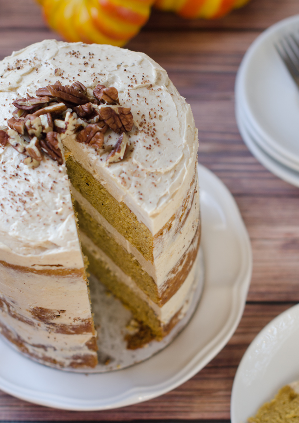 layer cake with lemon cream cheese frosting pumpkin spice layer cake ...