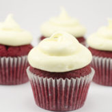 One Bowl Red Velvet Cupcakes