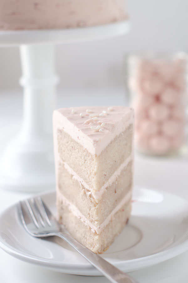Strawberry Malt Cake