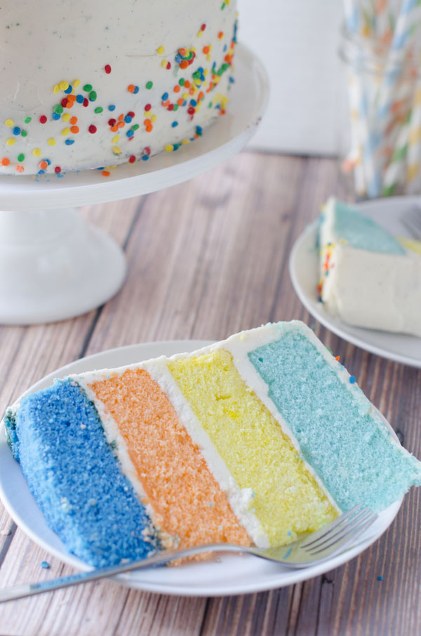 Vanilla Sour Cream Cake