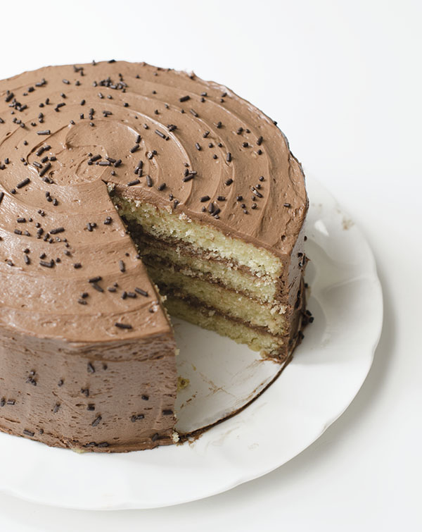 Cake with Chocolate Cream Cheese Frosting | The Cake Merchant