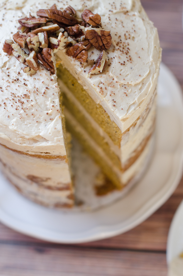 pumpkin layer cake pumpkin layer cake with brown sugar and cinnamon 6856