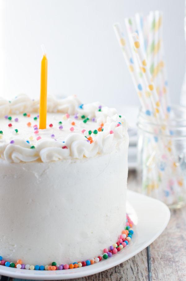 Cake Merchant Vegan Vanilla Cake